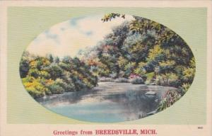 Michigan Greetings From Breedsville