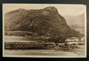 Mint Vintage Eagles Nest Mountain Killarney Ireland Real Picture Postcard