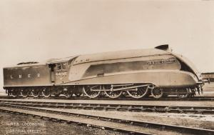 LNER 4498 Locomotive Train Nigel Handley Old Real Photo Postcard