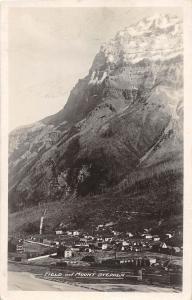 C9/ Field Mount Stephen Canada British Columbia Photo RPPC Postcard Birsdeye