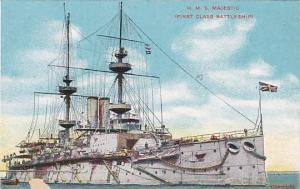 H.M.S.Majestic, First Class Battleship, 00-10s