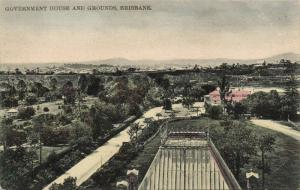 australia, BRISBANE, Government House and Grounds (1910s)