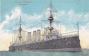H.M.S. Terrible, Cruiser, 00-10s