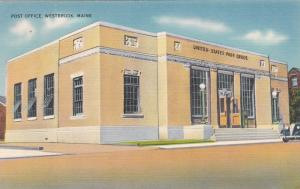 WESTBROOK , Maine , 30-40s ; Post Office