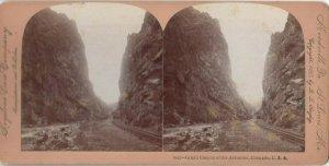 SV ; Grand Canyon of the Arkansas , Colorado , 1897
