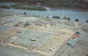 BERNALILLO, New Mexico , 50-60s; Aerial View of Coronado's Ruins