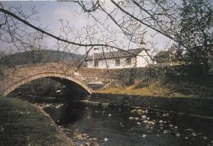 River Dunsop Forest Of Bowland Lancashire Postcard