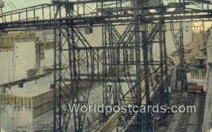 Republic of Panama, República de Panamá Chamber Cranes Pedro Miguel Locks P...