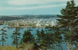 MAHONE BAY, Nova Scotia, PU-1969; Seaport town
