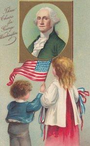 George Washington & 2 kids , 00-10s