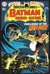 Batman Vs The Man Bat Batgirl Detective DC Comics Book Postcard