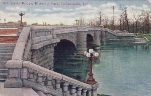 30th Street Bridge Riverside Park Indianapolis Indiana