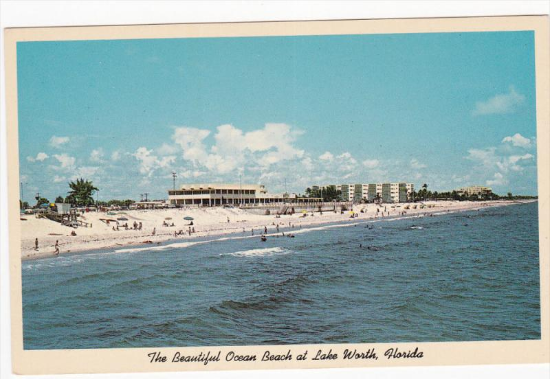 Ocean Beach, LAKE WORTH, Florida, 40-60's