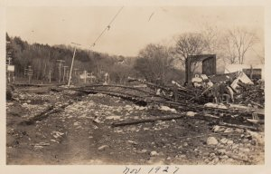 RP: SPRINGFIELD , Vermont , 1927 ; Flood Disaster #3