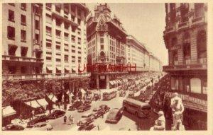 BUENOS AIRES, ARGENTINA - AV. ROQUE SAENZ PENA circa 1945