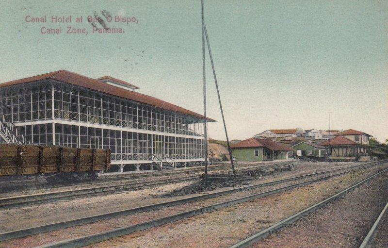 Bar O Bispo , Panama , 1908 ; Canal Hotel
