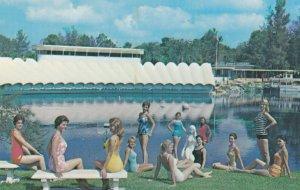 WEEKI WACHEE , Florida , 1950-60s ; Spring of live Mermaids