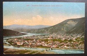 Mint Alaska USA Color Picture Postcard Birdseye View Of Dawson Yukon Territory