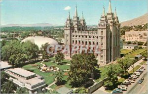 Postcard Modern Utah Salt Lake City Temple Square