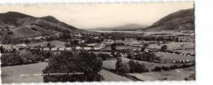 Vintage Panorama RP Cumbria Postcard Braithwaite, Bassenthwaite & Skiddaw OS86