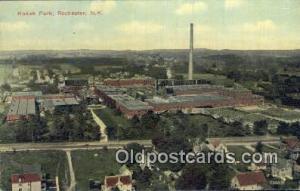 Kodak Park, Rochester, NY USA Camera Postcard Post Card Old Vintage Antique  ...