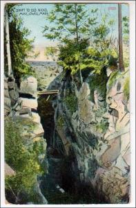 Shaft to Old Nickel Mine, Lowell MA