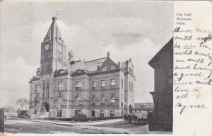 BROCKTON, Massachusetts; City Hall, PU-1907