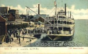 Quincy III Ferry Boat, Ferries, Ship, Ships, Postcard Post Cards  Quincy, Ill...