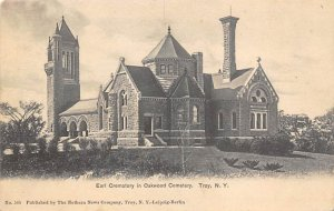 Earl Crematory in Oakwood Cemetery Troy, NY USA Funeral Home Unused