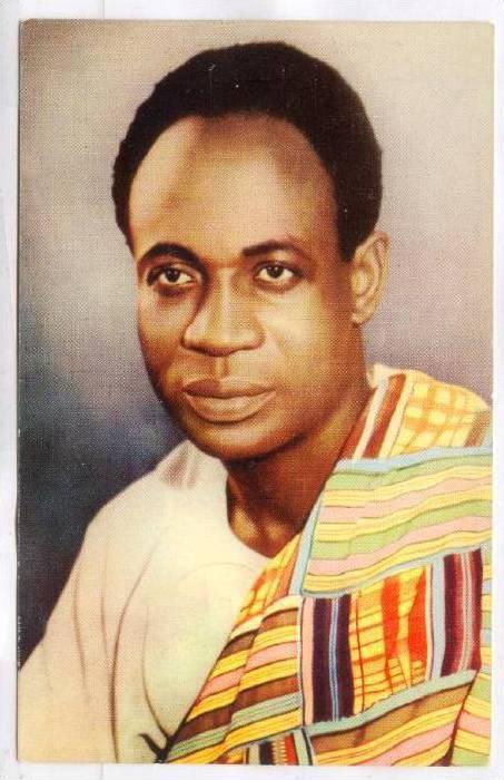 Dr. Kwame Nkrumah, Prime Minister Of Ghana, Africa, PU-1958