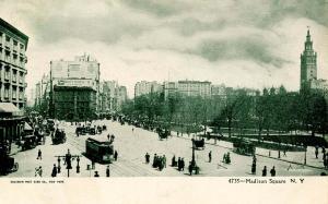NY - New York City. Madison Square circa 1900