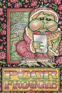 Artist Leanne C. BOYD , 1987 : Poor Froggie