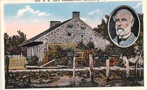 Civil War Post Card Old Vintage Antique Postcard Gen RE Lee's Headquarte...