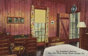 Georgia Warm Springs The Little White House President's Room