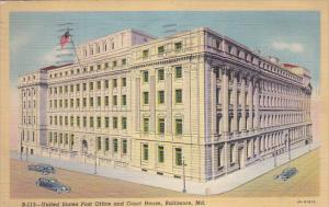 U. S. Post Office and Court House, BALTIMORE, Maryland, PU-1941