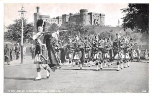 Scotland, UK Old Vintage Antique Post Card Land of Kilts and Tartans Invernes...