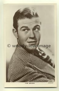 b0035 - Film Actor - Tom Brown - Picturegoer Postcard 709a