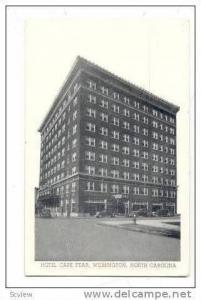 Hotel Cape Fear, Wilmington, North Carolina, 20-40s