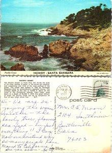 Pacific Coast, Santa Barbara, California