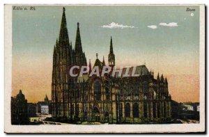 Postcard Old Koln am Rhein Dom