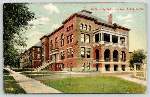 Ann Arbor Michigan~Barbour Gymnasium~Corner View~Arched Windows~1908