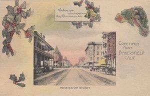 BAKERSFIELD , California ; 1900-10s ; Nineteenth Street