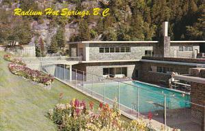 Canadian Radium Hot Springs Swimming Pool British Columbia