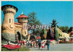 Modern Postcard Series Asterix park romantic tower