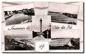 Old Postcard Souvenir De L & # 39ile De Re