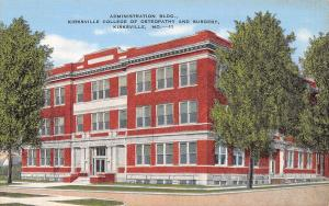 Kirksville MO Early Linen: Grim-Smith Community Hospital~Partly Demolished 1924