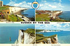 Vintage Postcard Sussex by the Sea, Multi View, Sussex K39