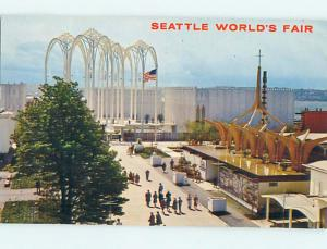 1962 Science Exhibit At World's Fair Seattle Washington WA Q3523