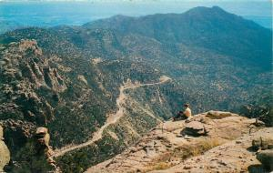 Santa Catalina Mountains Tucson Arizona Mt Lemmon AZ Postcard