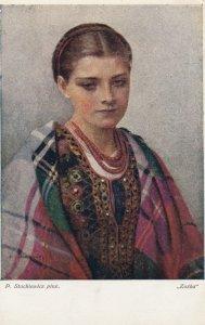 POLAND , 00-10s ; P. Stachiewicz pinx. Zoska